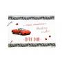 Livre d'Or Anniversaire Adulte Thème Voiture Ferrari rouge