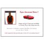 Livre d'Or Anniversaire Adulte Thème Ferrari rouge page de garde