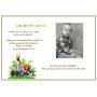 Livre d'Or de Baptême Déco Jungle Vert Anis page papier