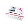 Pack Complet Déco Baptême Fille Thème Féerique rose et blanc urne