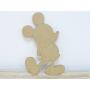 Personnage Imaginaire Mickey en bois déco murale