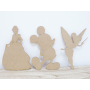 Personnage Imaginaire en bois déco murale enfant