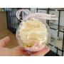 Boule Plexiglass avec Bonbons Cadeau Fin d'Année Ecole Rose Pastel