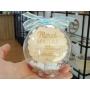 Boule Plexiglass avec Bonbons Cadeau Fin d'Année Ecole Bleu Pastel