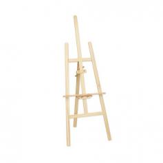 Chevalet en bois naturel clair XL 150 cm