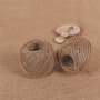 Corde de Chanvre Brune en rouleau