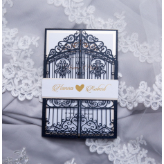 Invitation de Mariage Portes du Bonheur